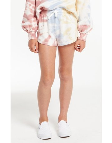 Z Supply Girls Mia Tie Dye Short