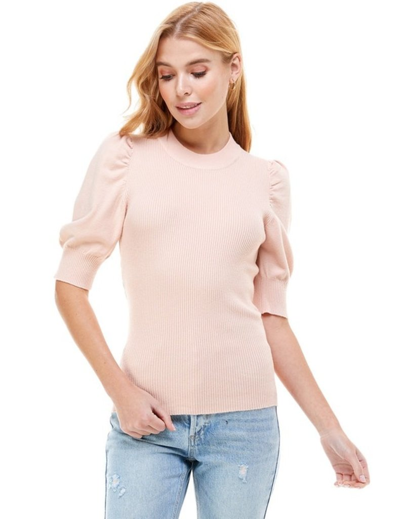 Ontwelfth Crew Neck Ribbed Sweater