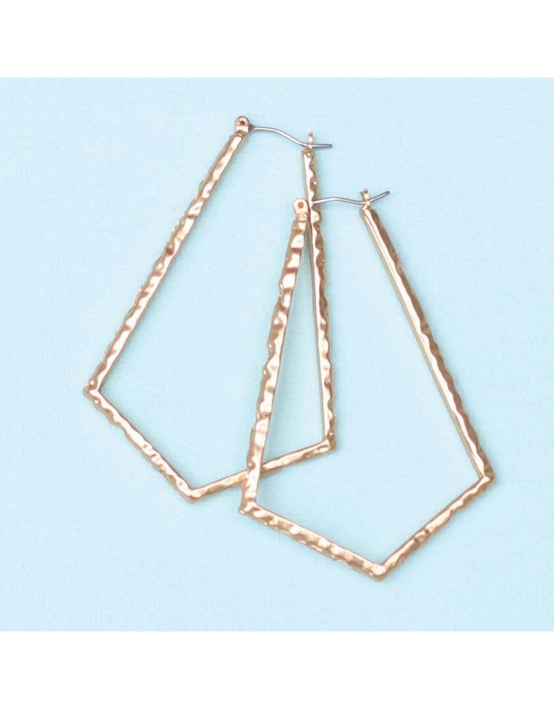 Michelle McDowell Earrings Calla Gold