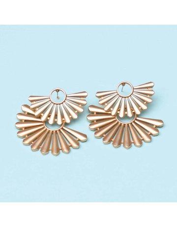 Michelle McDowell Earrings Dayton Gold