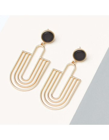 Michelle McDowell Earrings Reign Navy