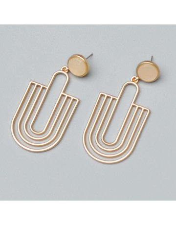 Michelle McDowell Earrings Reign Pearl