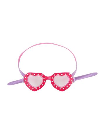 Heart Girl Goggles