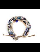 Beaded Love Prayer Bracelet