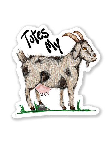Nice Enough Totes My Goats