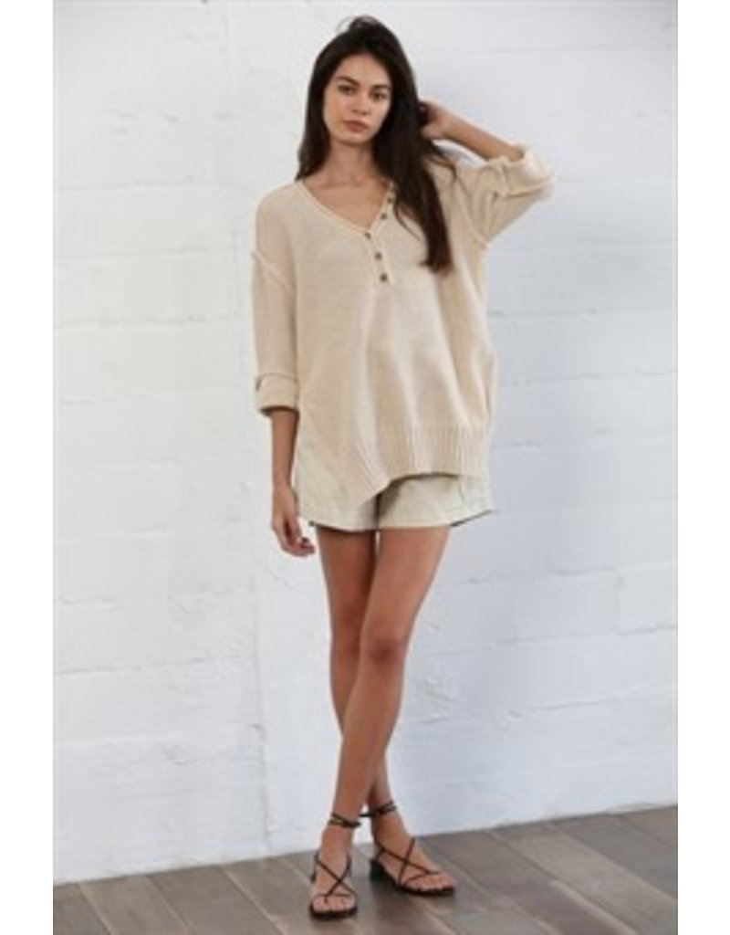 By Together Vneck Sweater Tunic