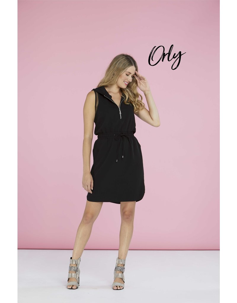 Orly Hooded Dress