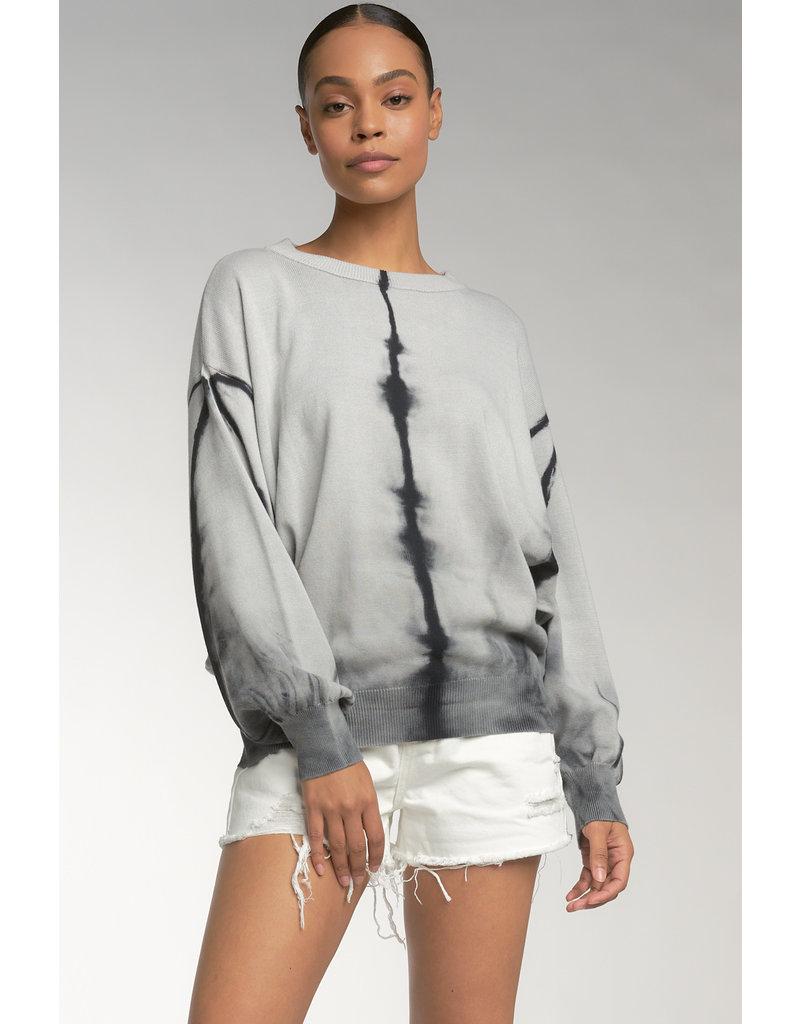 TieDye Crew Neck Sweater