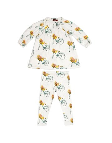 Milkbarn Dress & Legging Set