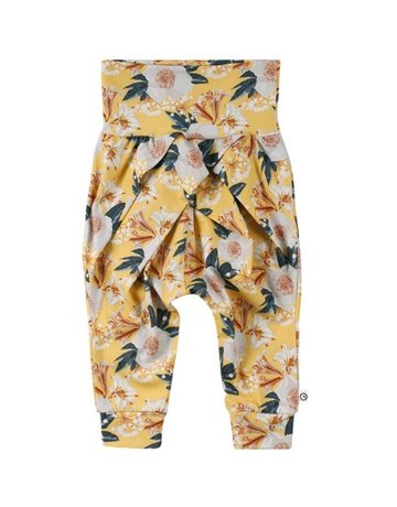 Green Cotton Group Bloom Pants
