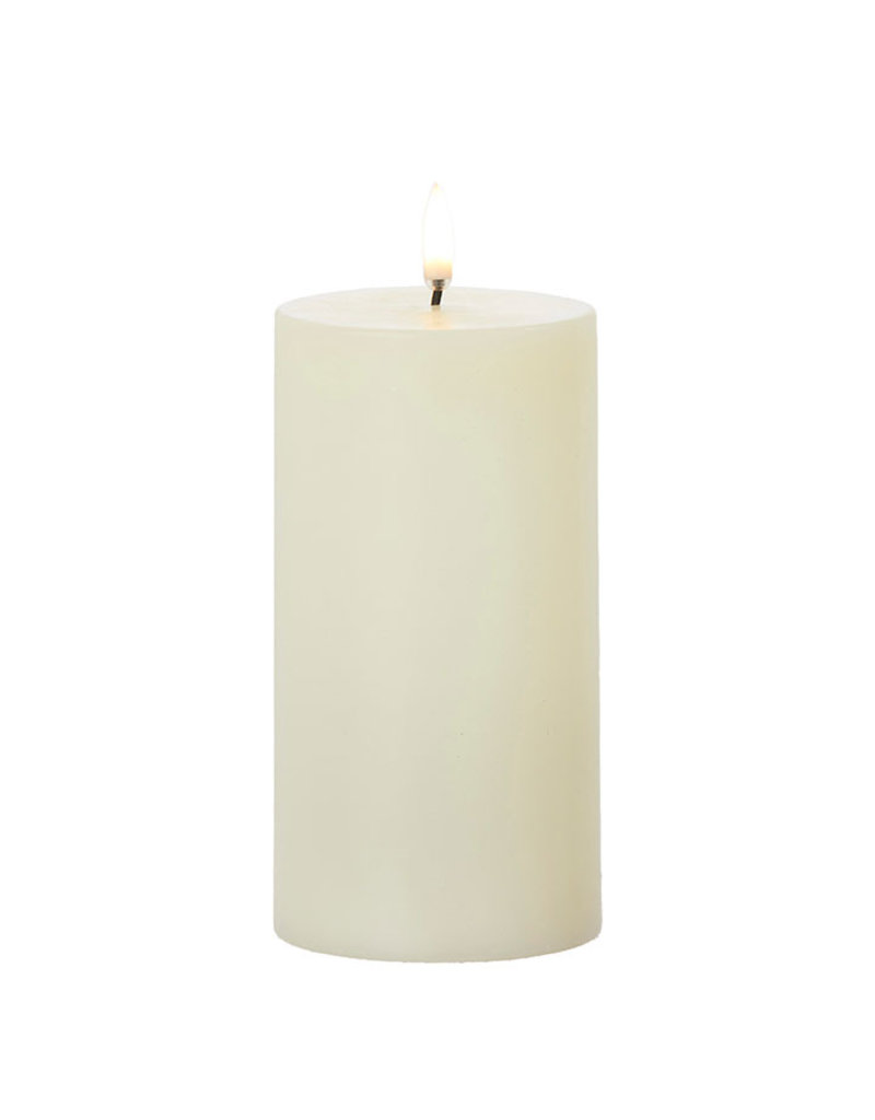 Ivory Pillar Candle 3x7""