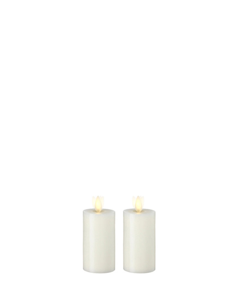 Ivory Moving Flame Votive Set/2