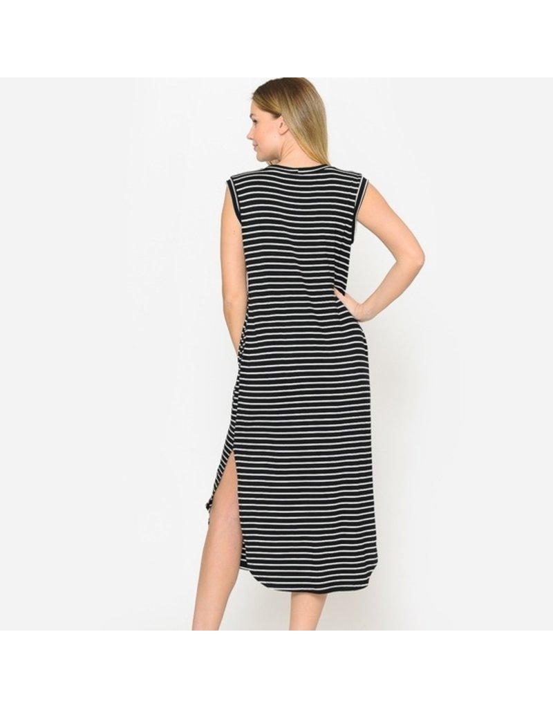 Now N Forever Striped Pocket Dress