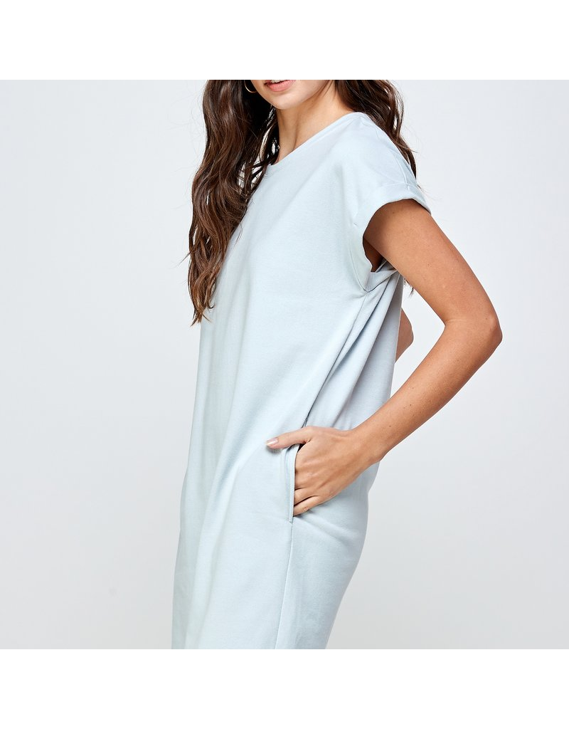 Ellison Solid T-Shirt Dress