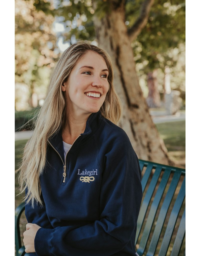 lakegirl Quarter Zip Sweatshirt