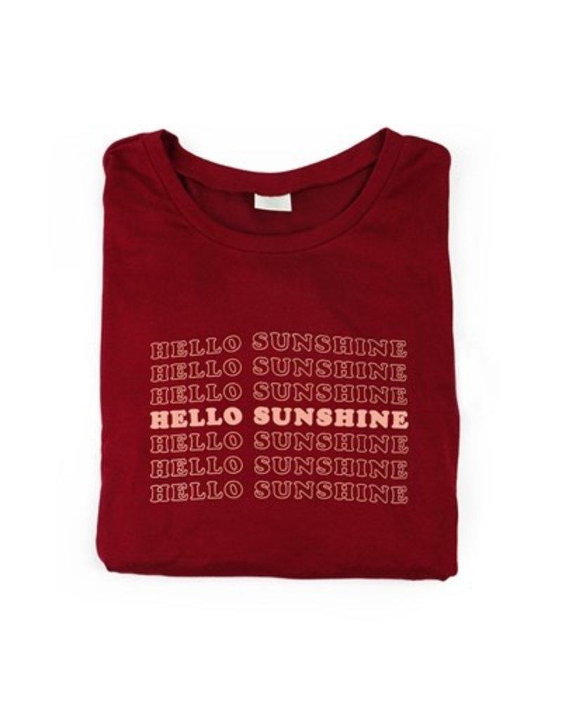 Hello Mello Hello Sunshine Top