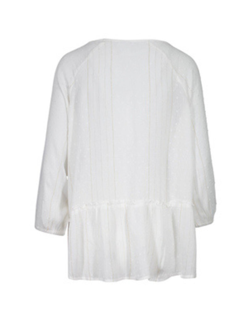 Tribal Sportswear 3/4 Raglan Slv Blouse w/Lace