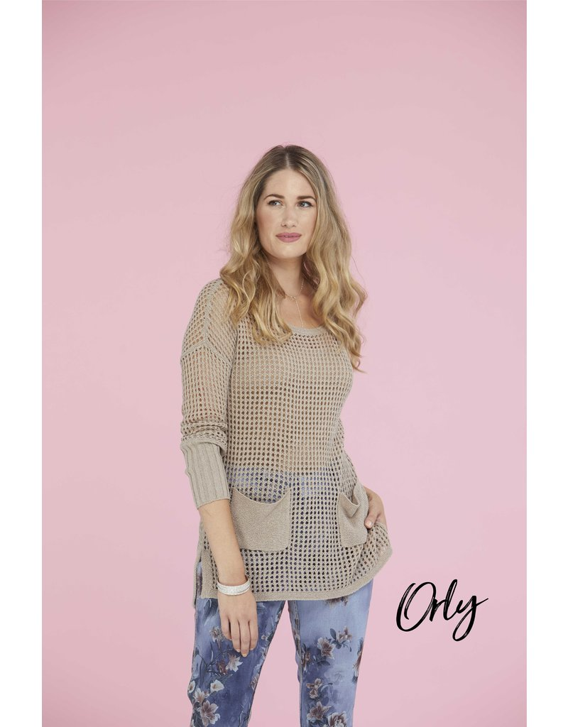Orly Knit Sweater with Pockets