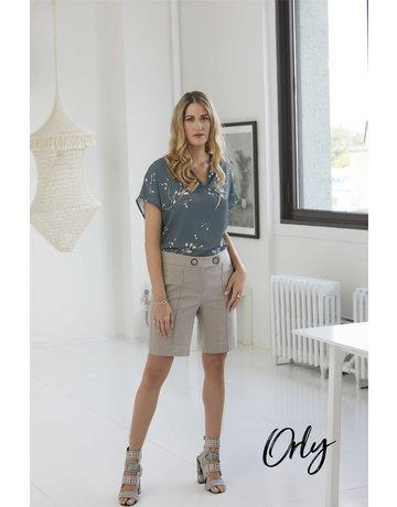 Orly Pleated Shorts