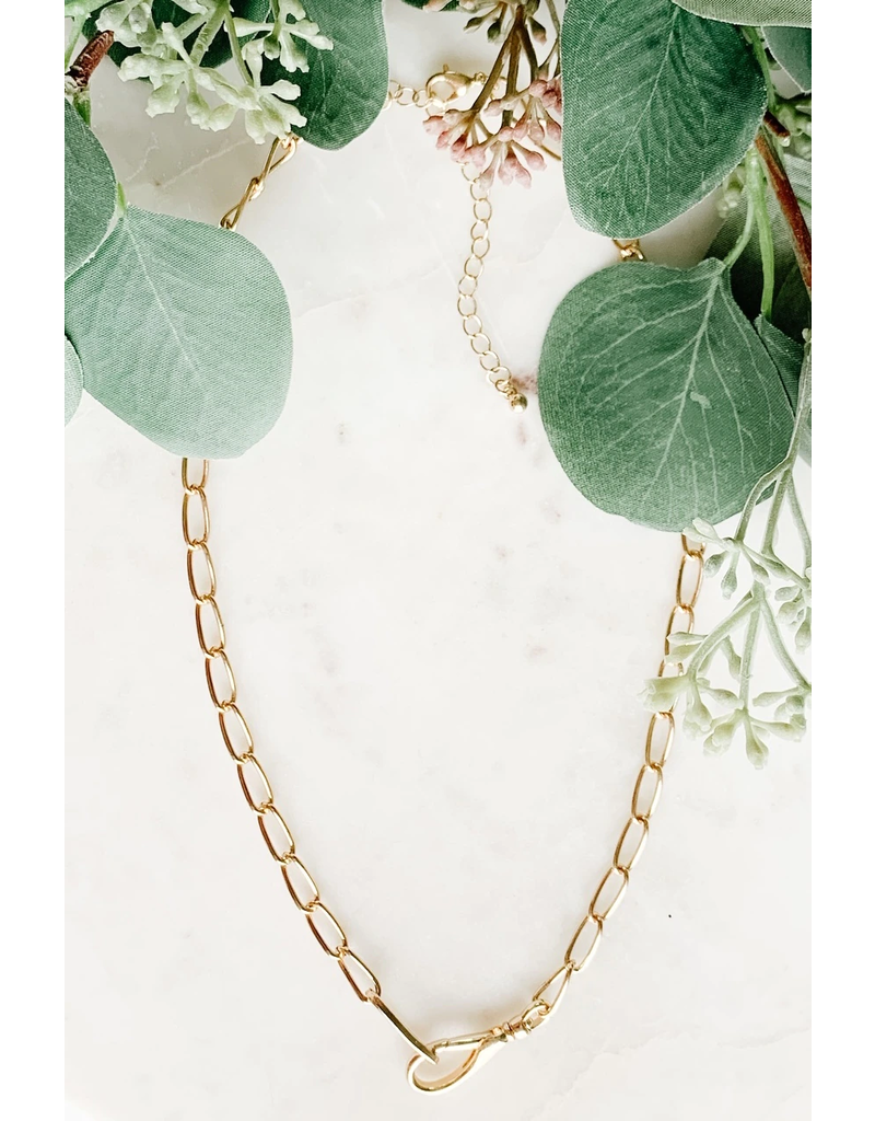 Front Clasp Chain Necklace