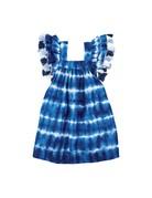 Tie-Dye Tassel Dress