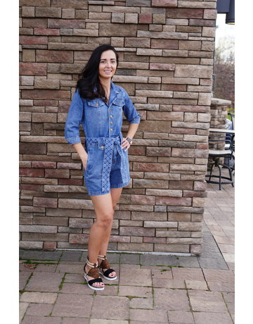 Lola Jeans Delilah Original Fade Jumpsuit