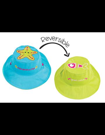 FlapJackKids Starfish/Fish Sun Hat