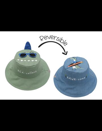 FlapJackKids Dino/Surfer Sunhat