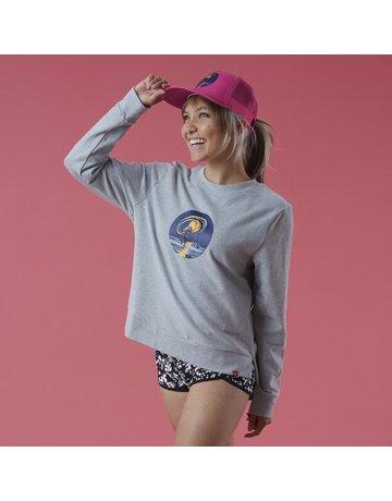 Krimson Klover Crew Pullover Sweatshirt