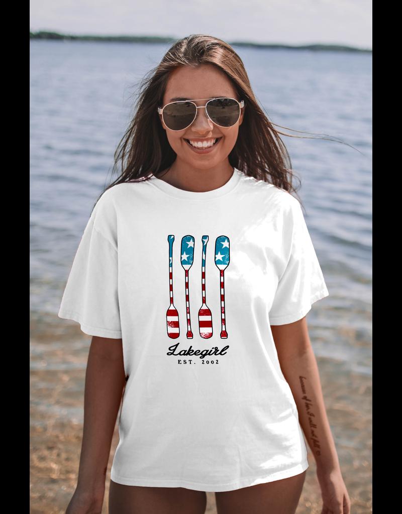 lakegirl Ringspun Americana Tee