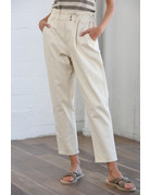 By Together Pepplum Straight Line Pants