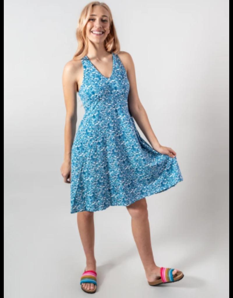 Krimson Klover Piper Damask Dress