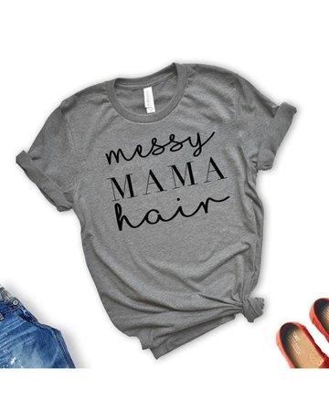 Rags & Royal Messy Mama Hair Tee M