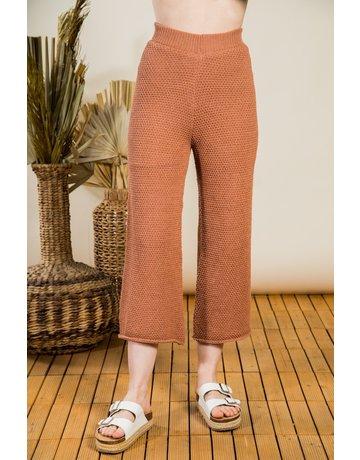 VeryJ Crochet Lounge Pants