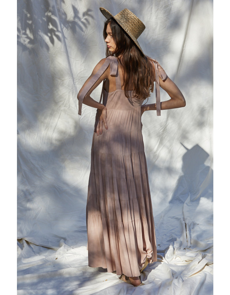By Together Ruffled Maxi Dress