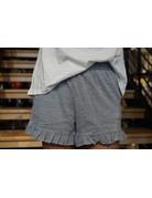 Hem & Thread Mini Ruffle Shorts