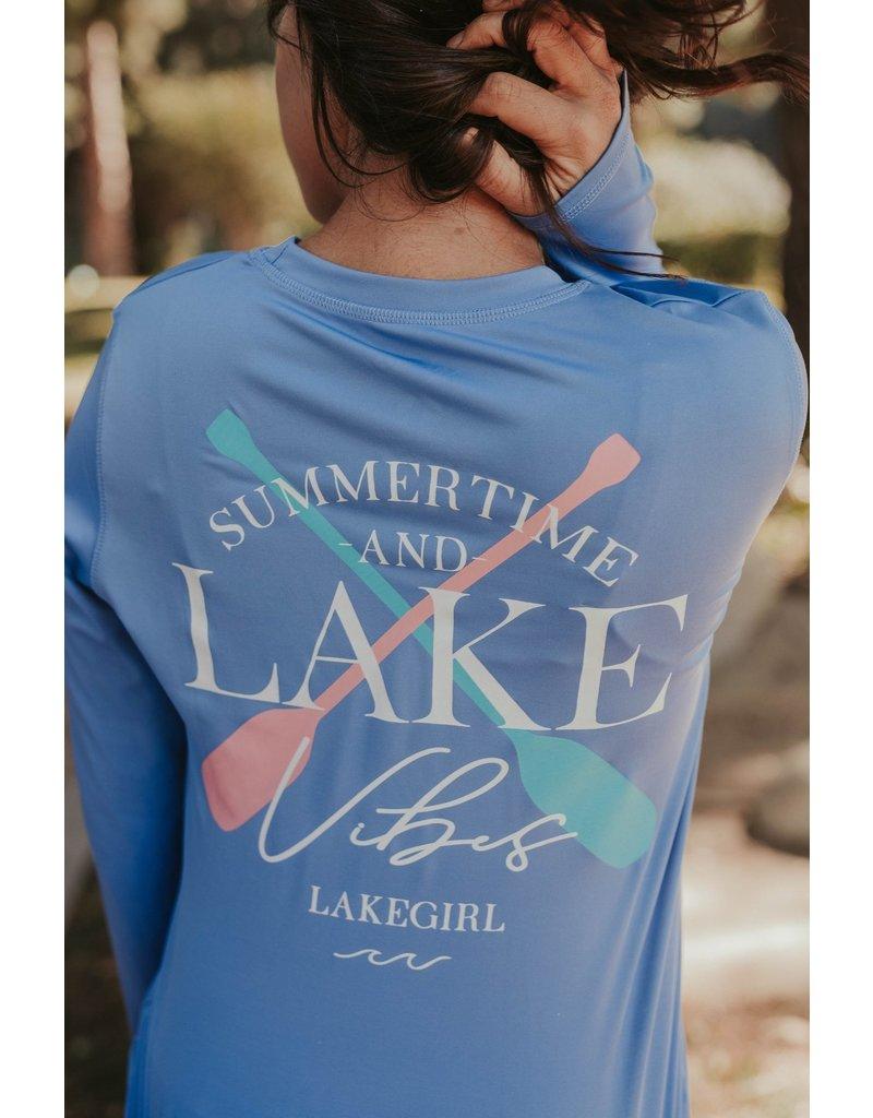 lakegirl Lake Vibes Long Sleeve Rash Guard