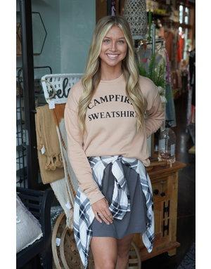 Sarah Goerke Designs Campfire Crewneck
