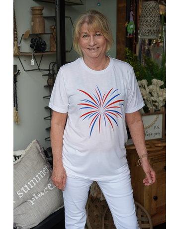 Sarah Goerke Designs Firecracker Tshirt