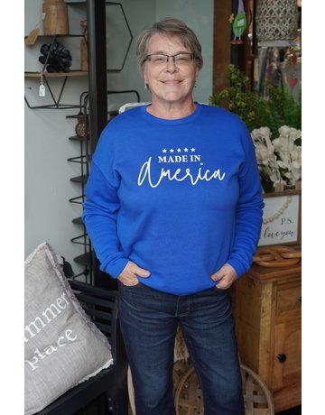 Sarah Goerke Designs America Crewneck