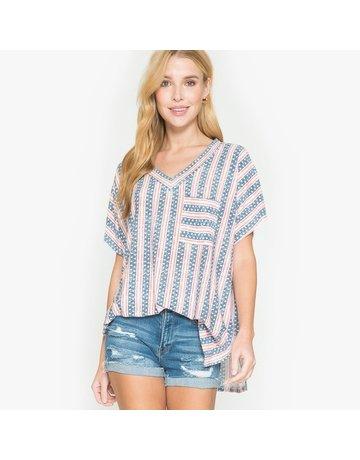 Now N Forever Stripe USA Shirt