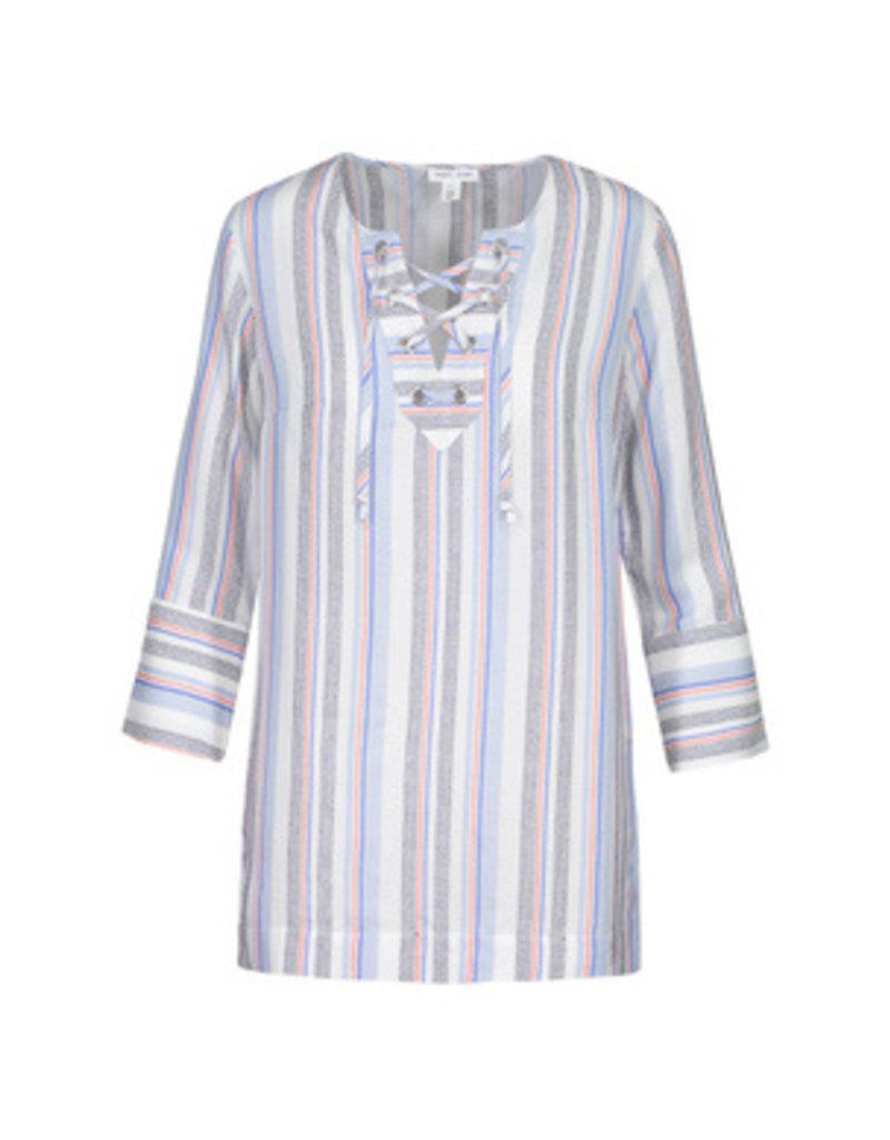 Tribal Sportswear LS Tunic w/Lace Up