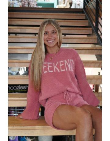 Hem & Thread Weekend Fuzzy Sweater