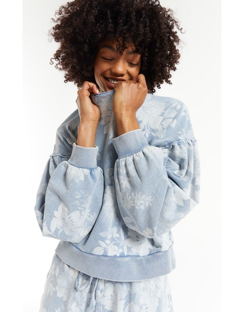 Z Supply Claire Floral Sweater