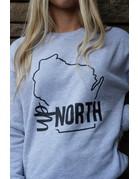 Sarah Goerke Designs Up North Crewneck