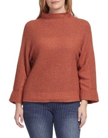 Tribal Sportswear LS Funnel Neck Sweater