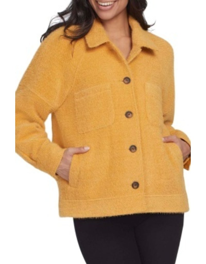Tribal Sportswear LS  Button Front Lined Jacket