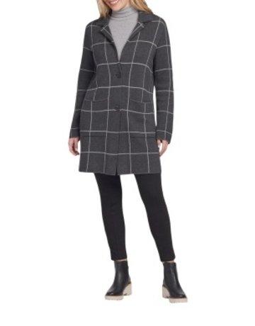 Tribal Sportswear LS Single Breasted Overcoat