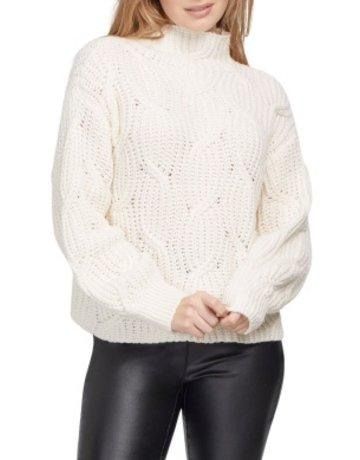 Tribal Sportswear High Neck Oversized Sweater