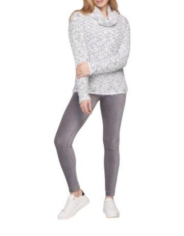 Tribal Sportswear Cowl Neck Sweater